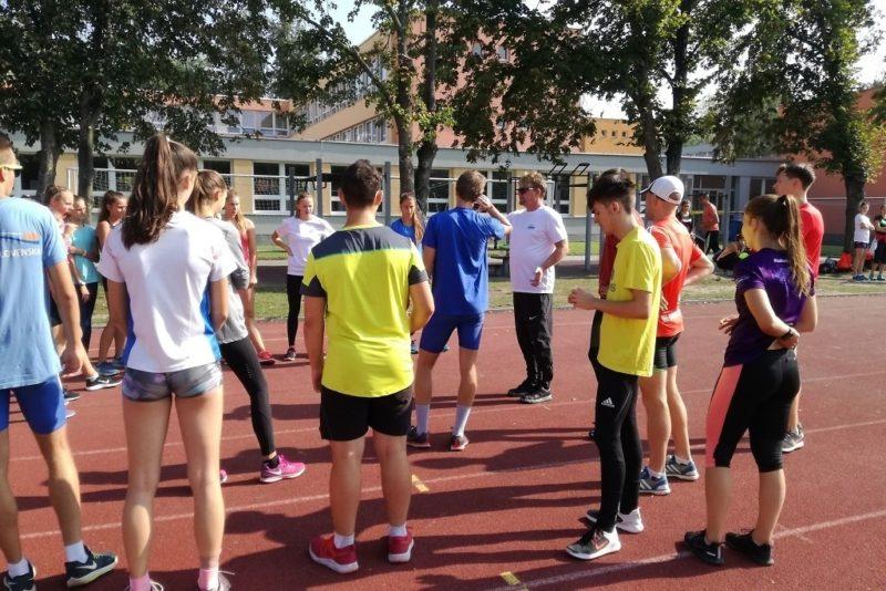 Atletický kemp CISO vareálu SG