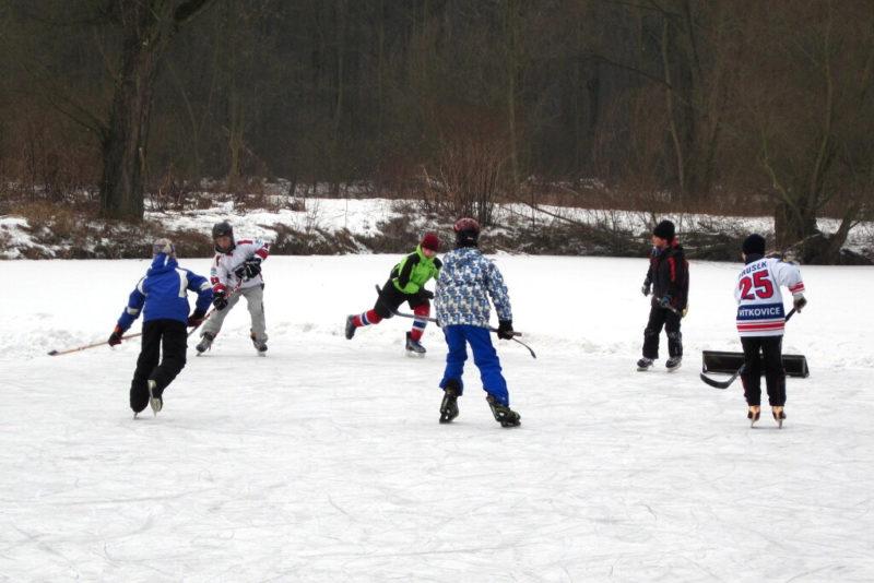 Prima vrámci TV hrála lední hokej