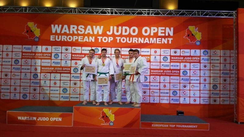 Tomáš Pavlica vítězem prestižního Warszawa Judo Open 2018