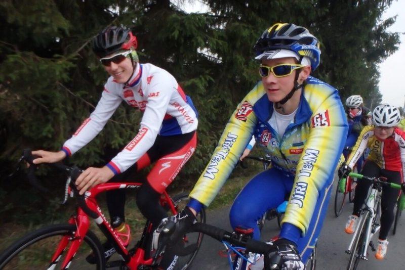 Podzimní trénink cyklistů
