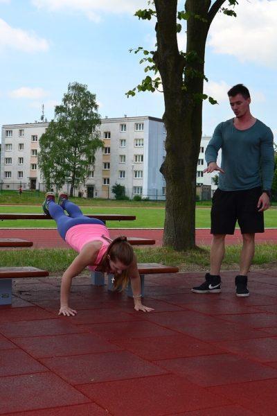 Workout – ukázka cvičení